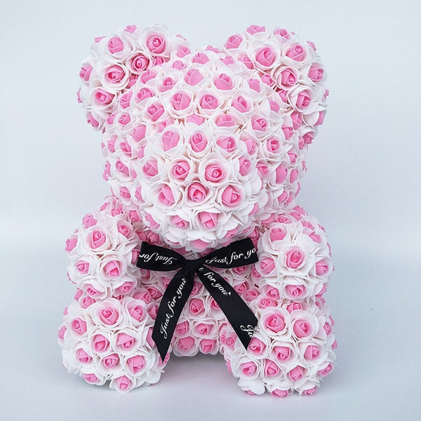 Pink Rose Bear (New Style)