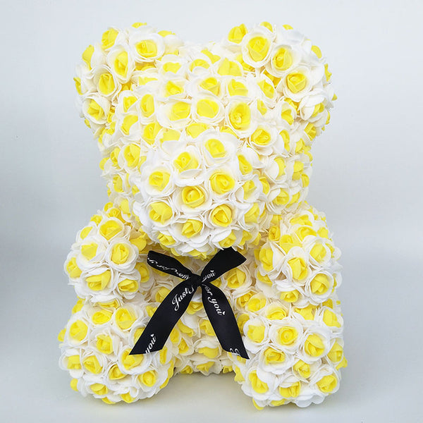 Yellow Rose Bear (New Style)