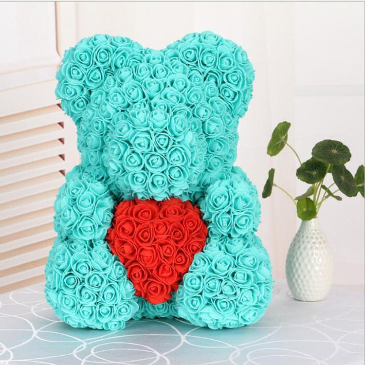 Love Heart Rose Bear (TifuRed)