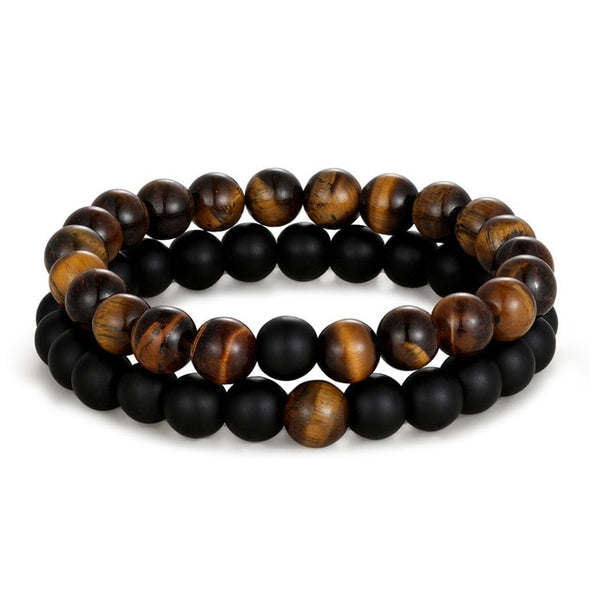 Distance Bracelets - Black Wood