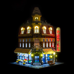 10182 - Cafe Corner Lighting Kit - LEGO  Lighting Kit - Elegant Bricks