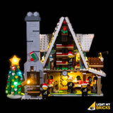 10275 - Elf Club House Lighting Kit - LEGO  Lighting Kit - Elegant Bricks