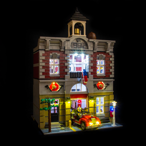 10197 - Fire Brigade Lighting Kit - LEGO  Lighting Kit - Elegant Bricks