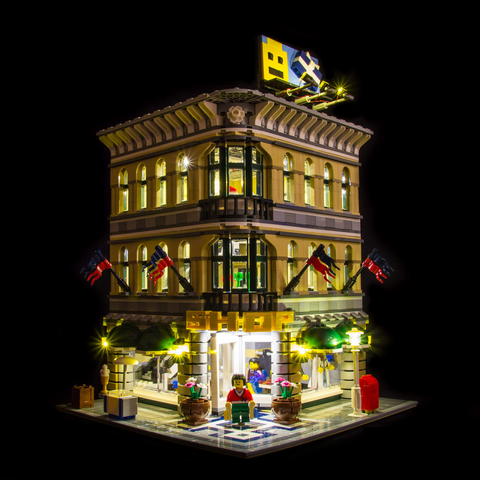 10211 - Grand Emporium Lighting Kit - LEGO  Lighting Kit - Elegant Bricks