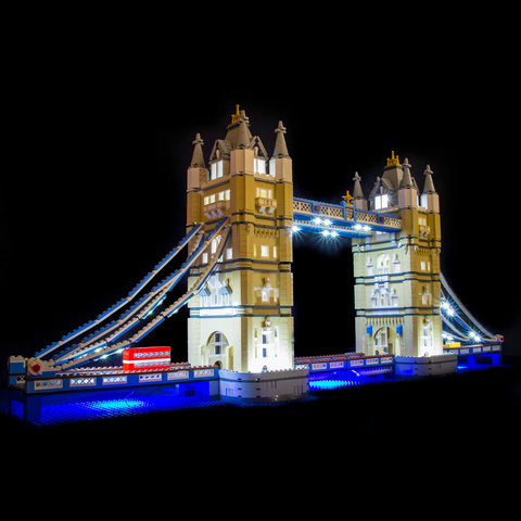 10214 - Tower Bridge Lighting Kit - LEGO  Lighting Kit - Elegant Bricks