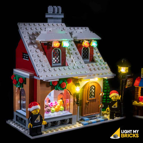 10216 - Winter Village Bakery Lighting Kit - LEGO  Lighting Kit - Elegant Bricks