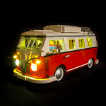 10220 - Volkswagen T1 Camper Van Lighting Kit - Elegant Bricks Limited