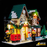 10222 - The Winter Village Post Office Lighting Kit - Elegant Bricks Limited