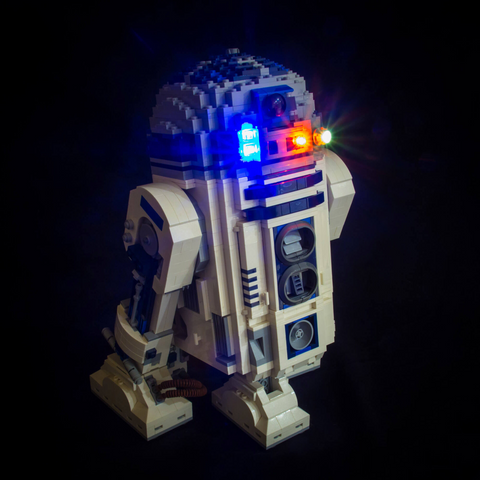 10225 - Star Wars R2-D2 Lighting Kit - LEGO  Lighting Kit - Elegant Bricks