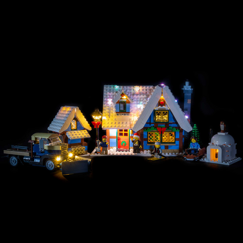 10229 - Winter Village Cottage Lighting Kit - Elegant Bricks Limited