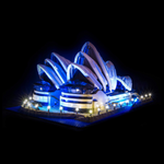 10234 - Sydney Opera House Lighting Kit - LEGO  Lighting Kit - Elegant Bricks