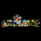 10235 - Winter Village Market Lighting Kit - LEGO  Lighting Kit - Elegant Bricks