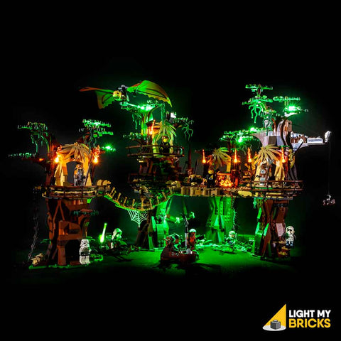 10236 - Ewok Village Lighting Kit - LEGO  Lighting Kit - Elegant Bricks