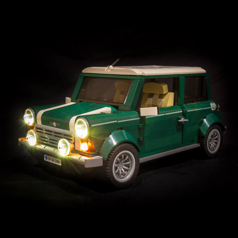 10242 - Mini Cooper Lighting Kit - LEGO  Lighting Kit - Elegant Bricks