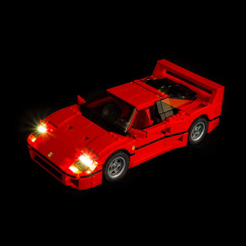 10248 - Ferrari F40 Lighting Kit - LEGO  Lighting Kit - Elegant Bricks