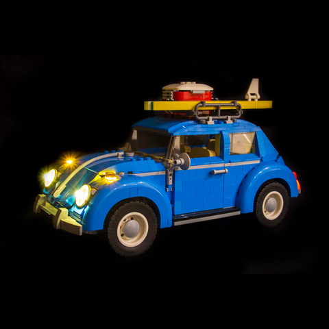 10252 - Volkswagen Beetle Lighting Kit - LEGO  Lighting Kit - Elegant Bricks