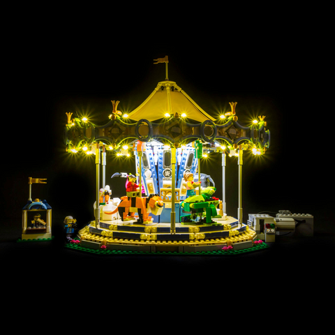 10257 - Carousel Lighting Kit - LEGO  Lighting Kit - Elegant Bricks