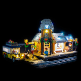 10259 - Winter Village Station Lighting Kit - LEGO  Lighting Kit - Elegant Bricks