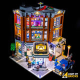 10264 - Corner Garage Lighting Kit - LEGO  Lighting Kit - Elegant Bricks