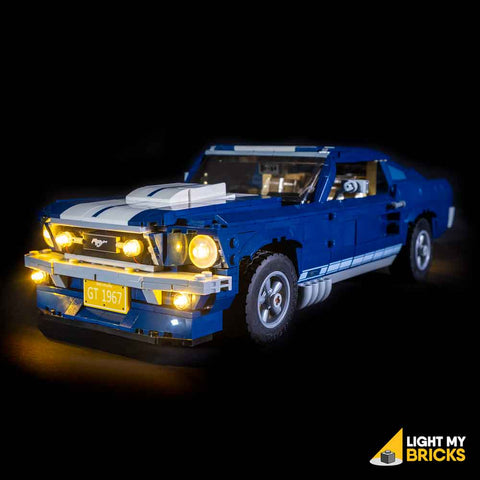 10265 - Ford Mustang Lighting Kit - LEGO  Lighting Kit - Elegant Bricks
