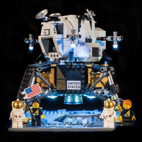 10266 - NASA Apollo 11 Lunar Lander Light Kit - Elegant Bricks Limited