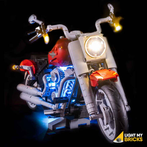 10269 - Harley Davidson Lighting Kit - LEGO  Lighting Kit - Elegant Bricks