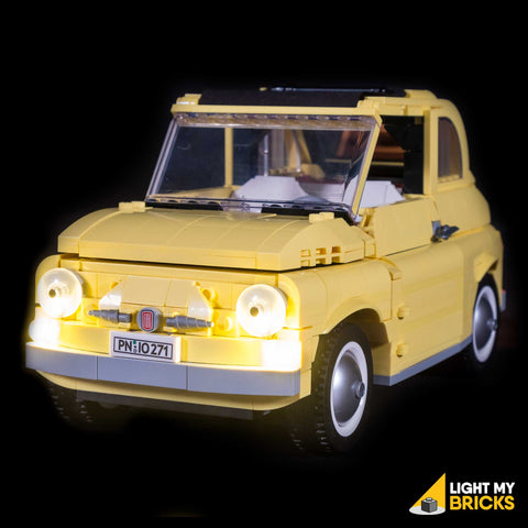 10271 - Fiat 500 Lighting Kit - LEGO  Lighting Kit - Elegant Bricks