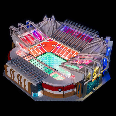 10272 - Manchester United Old Trafford Lighting Kit - LEGO  Lighting Kit - Elegant Bricks