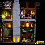 10273 - Haunted House Lighting Kit - LEGO  Lighting Kit - Elegant Bricks