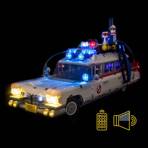 10274 - Ghostbusters Ecto-1 Lighting Kit - Elegant Bricks Limited
