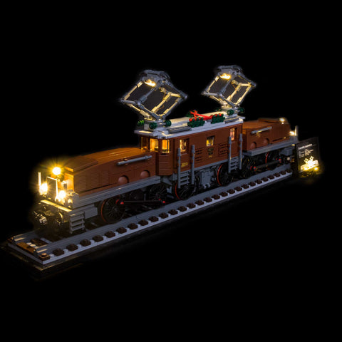 10277 - The Crocodile Locomotive Lighting Kit - Elegant Bricks Limited