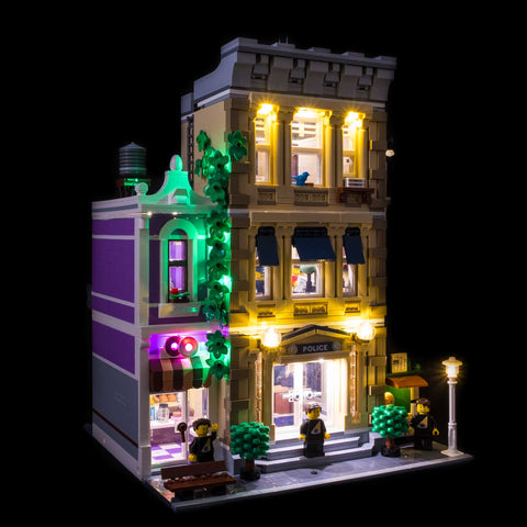 10278 - Police Station Lighting Kit - Elegant Bricks Limited