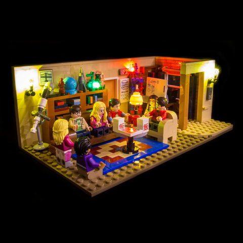 21302 - The Big Bang Theory Lighting Kit - LEGO  Lighting Kit - Elegant Bricks