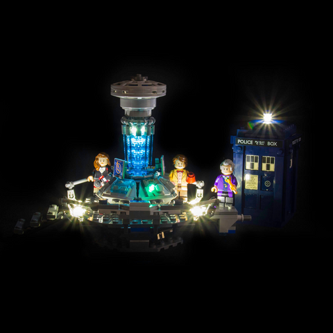 21304 - Doctor Who Lighting Kit - Elegant Bricks Limited