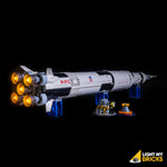 21309 - NASA Apollo Saturn V - Main Booster Only - Elegant Bricks Limited