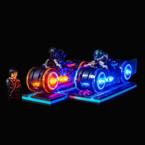 21314 - Tron Legacy Lighting Kit - LEGO  Lighting Kit - Elegant Bricks
