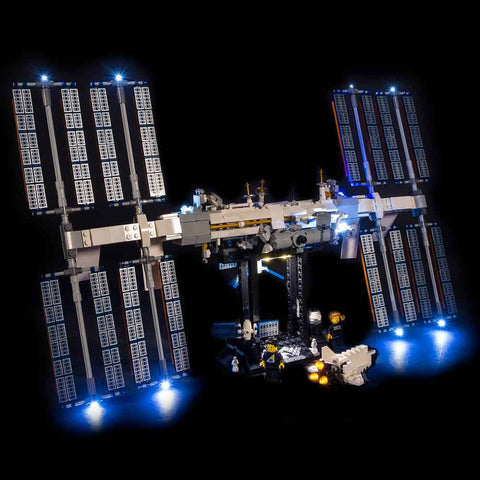 21321 - International Space Station Lighting Kit - LEGO  Lighting Kit - Elegant Bricks