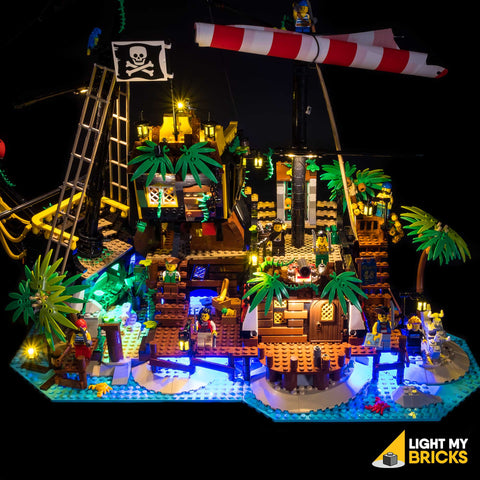 21322 - Pirates of Barracuda Bay Lighting Kit - LEGO  Lighting Kit - Elegant Bricks
