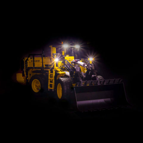 42030 - Volvo L350F Wheel Loader Lighting Kit - Elegant Bricks Limited