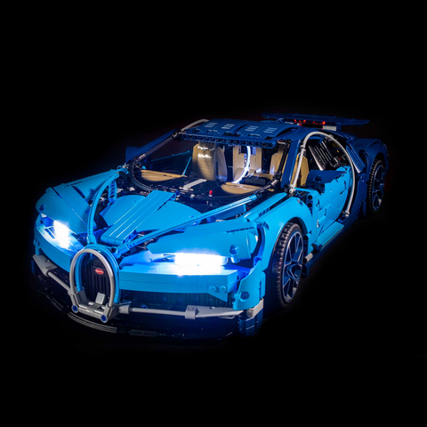 42083 - Bugatti Chiron Lighting Kit - LEGO  Lighting Kit - Elegant Bricks