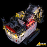 42100 - Liebherr 9800 Lighting Kit - LEGO  Lighting Kit - Elegant Bricks