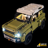 42110 - Land Rover Defender Lighting Kit - LEGO  Lighting Kit - Elegant Bricks