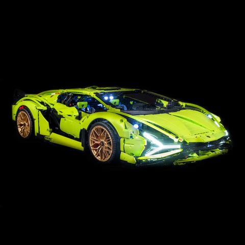 42115 - Lamborghini Sian FKP 37 Lighting Kit - Elegant Bricks Limited