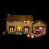 71006 - The Simpsons House Lighting Kit - LEGO  Lighting Kit - Elegant Bricks