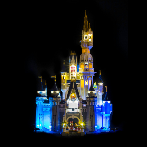 71040 - Disney Castle Lighting Kit - LEGO  Lighting Kit - Elegant Bricks