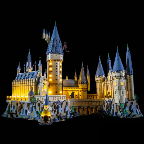 71043 - Hogwarts Castle Lighting Kit - LEGO  Lighting Kit - Elegant Bricks