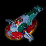 75060 - Star Wars UCS Slave 1 Lighting Kit - LEGO  Lighting Kit - Elegant Bricks