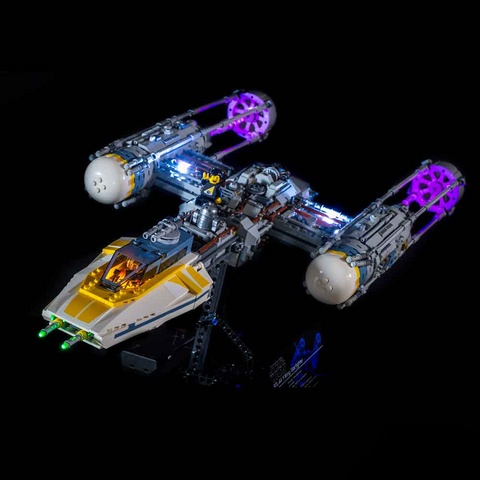 75181 - UCS Y-Wing Lighting Kit - Elegant Bricks Limited