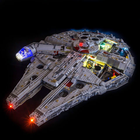 75192 - Star Wars UCS Millennium Falcon Lighting Kit - LEGO  Lighting Kit - Elegant Bricks