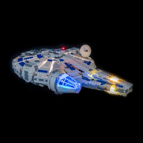 75212 - Kessel Run Millennium Falcon Lighting Kit - LEGO  Lighting Kit - Elegant Bricks